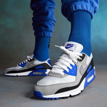 Nike Air Max 90 Herren Sneaker Recraft Royal CD0881 102 – Bild 7