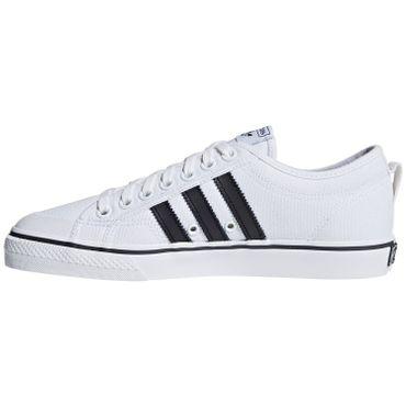 adidas Originals Nizza Sneaker Herren weiß schwarz CQ2333 – Bild 2