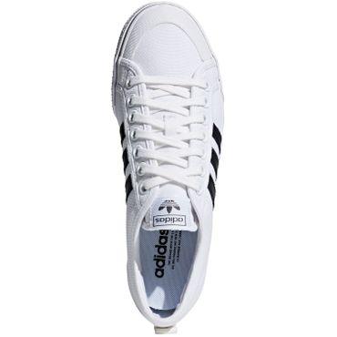 adidas Originals Nizza Sneaker Herren weiß schwarz CQ2333 – Bild 6