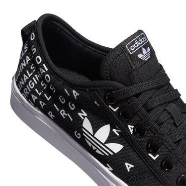 adidas Originals Nizza Trefoil W Sneaker Damen schwarz weiß EF5076 – Bild 3