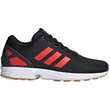 adidas Originals ZX Flux Herren Sneaker schwarz rot EG5407 – Bild 1