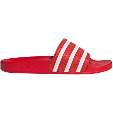 adidas Originals Adilette Slipper rot weiß EF5432 – Bild 1