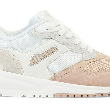 Ellesse NYC84 Sued AF Damen Sneaker weiß beige 6-13632 – Bild 2