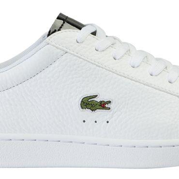 Lacoste Carnaby Evo 220 1 SFA Damen Sneaker weiß schwarz 7-39SFA0038147 – Bild 2