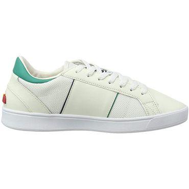 Ellesse LS-80 LTHR AM Herren Sneaker weiß grün 6-13608 – Bild 1