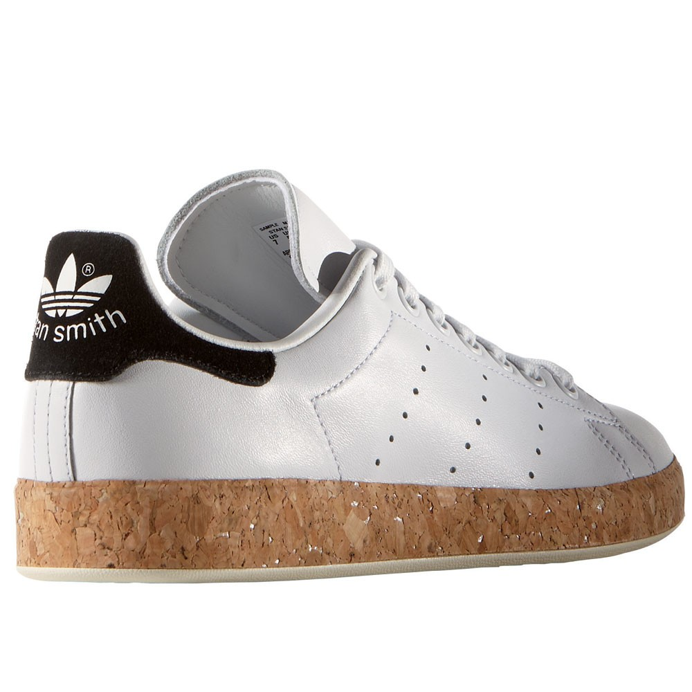 adidas originals stan smith luxe w damen sneaker wei kork. Black Bedroom Furniture Sets. Home Design Ideas