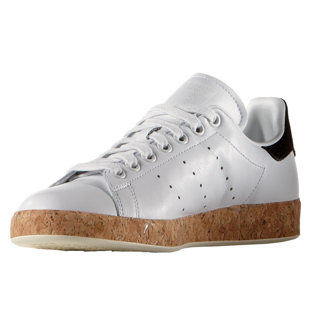 96bec33c522b adidas Originals Stan Smith Luxe W Damen Sneaker weiß Kork