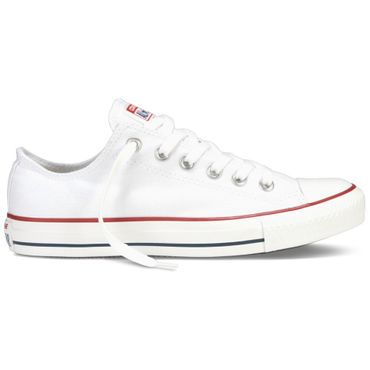Converse All OX Star Chuck Taylor Chucks weiß – Bild 1