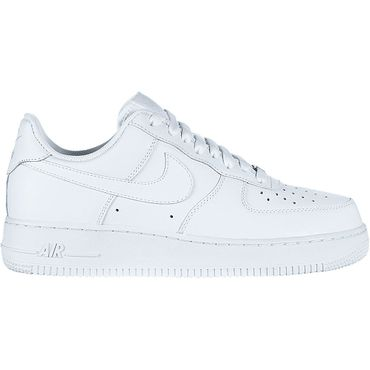 Nike Air Force 1 '07 Herren Sneaker weiß all white – Bild 1