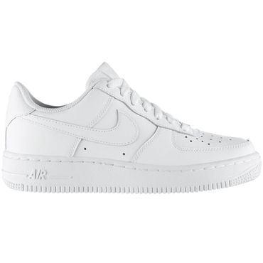 Nike Air Force 1 GS Kinder & Damen Sneaker weiß all white – Bild 1
