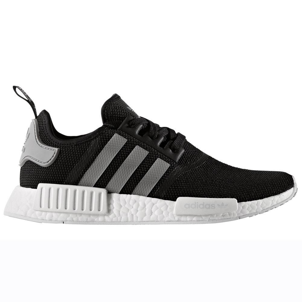 adidas NMD_R1 Herren Running Sneaker schwarz weiß grau