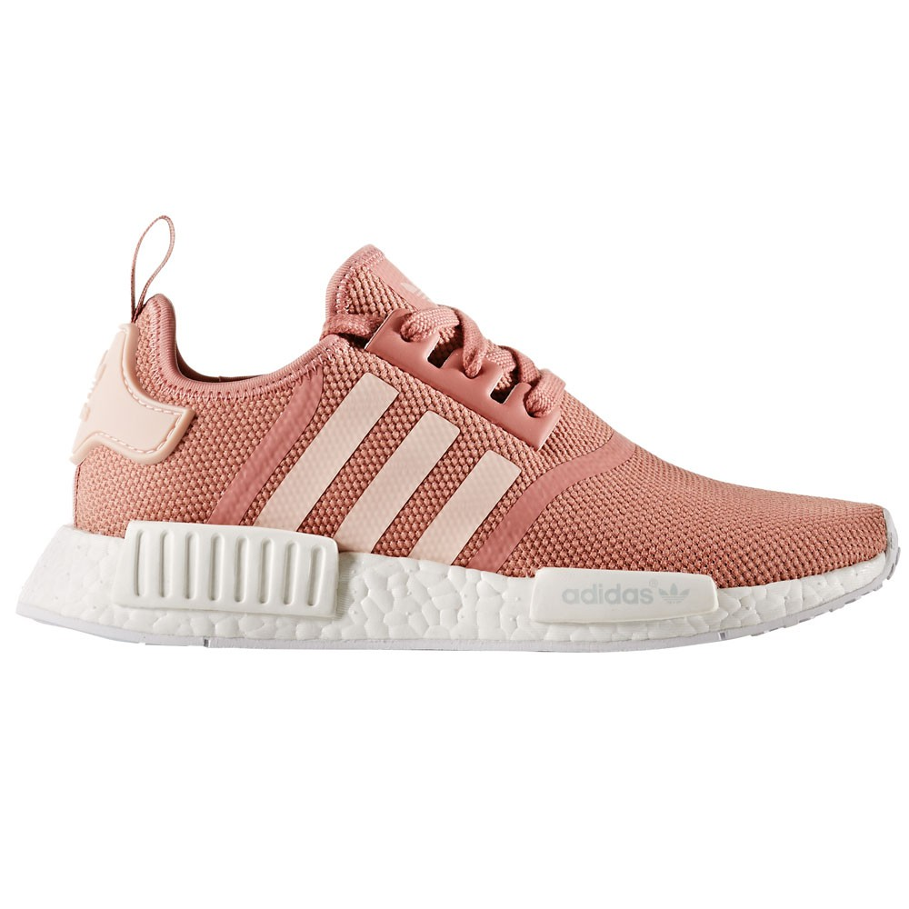 adidas nmd r1 w damen running sneaker rosa wei. Black Bedroom Furniture Sets. Home Design Ideas