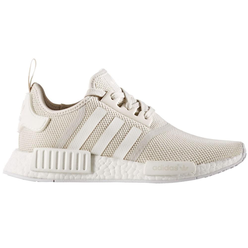 adidas NMD_R1 W Damen Running Sneaker beige weiß