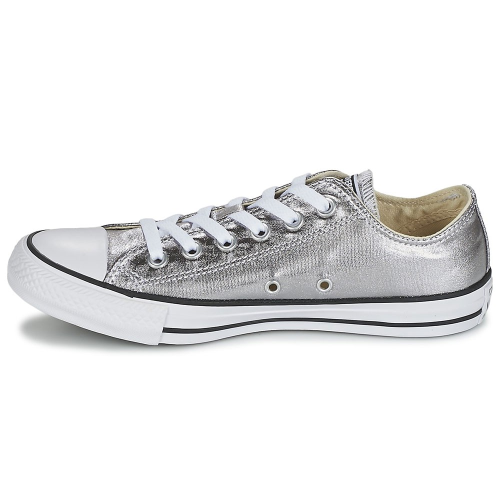 converse all star chuck taylor chucks metallic silber. Black Bedroom Furniture Sets. Home Design Ideas