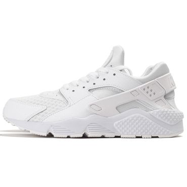 Nike Air Huarache Herren Sneaker weiß all white – Bild 2