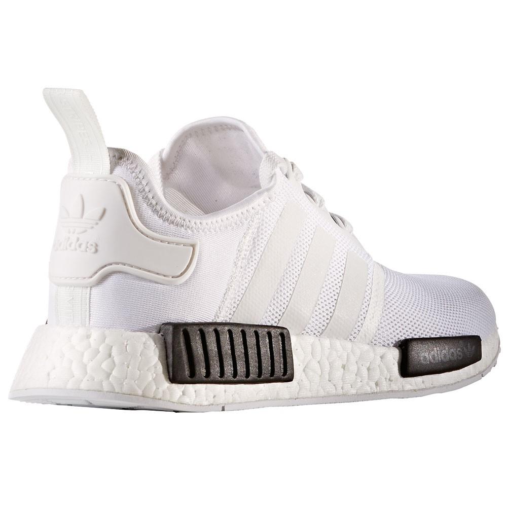 adidas NMD_R1 Herren Running Sneaker weiß schwarz