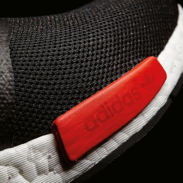 adidas NMD_R1 Herren Running Sneaker schwarz rot – Bild 5