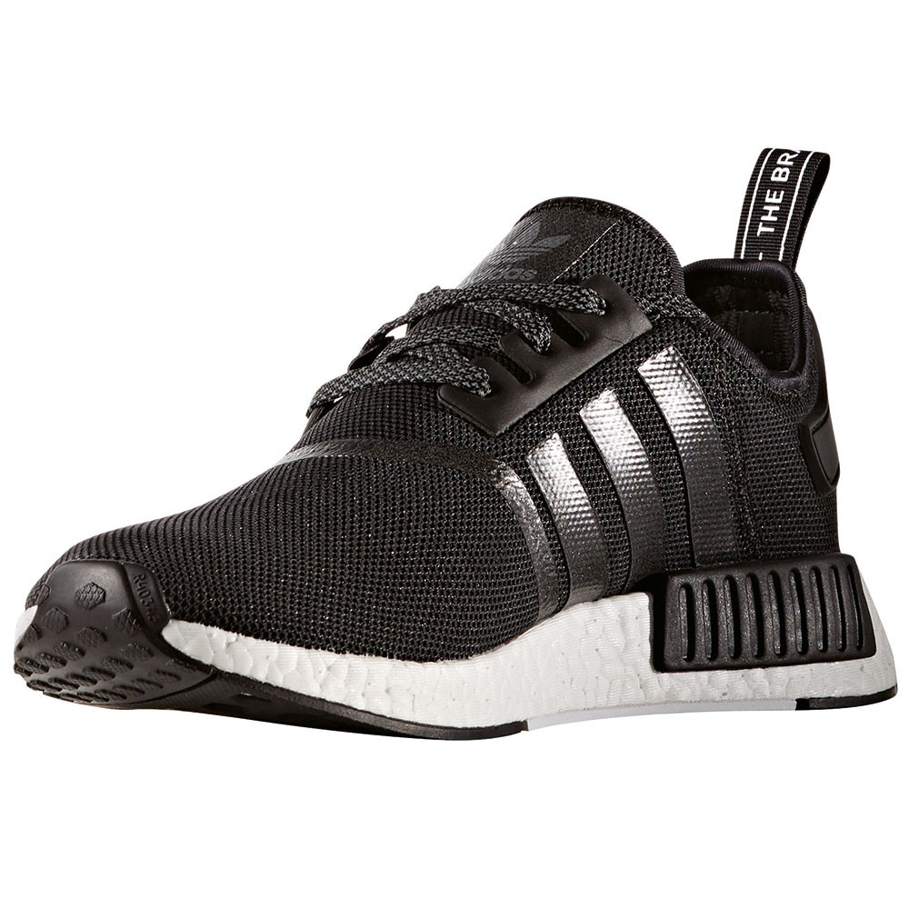 adidas nmd r1 herren running sneaker schwarz wei. Black Bedroom Furniture Sets. Home Design Ideas