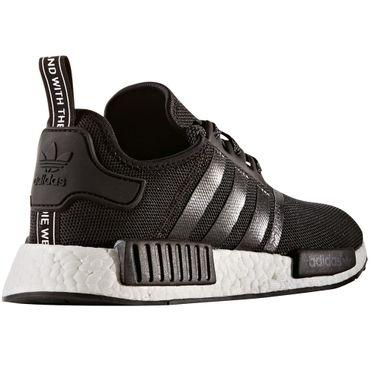 adidas NMD_R1 Herren Running Sneaker schwarz weiß – Bild 2