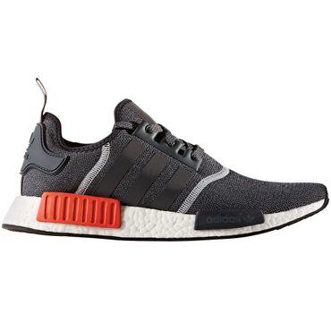 adidas NMD_R1 Herren Running Sneaker dunkelgrau rot – Bild 1
