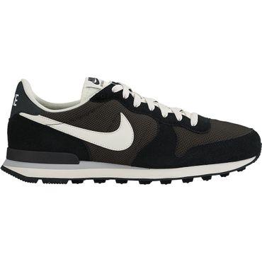 Nike Internationalist Herren Retro Sneaker schwarz weiß 828041 201 – Bild 1