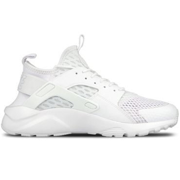 Nike Air Huarache Run Ultra BR Herren Sneaker weiß all white – Bild 1