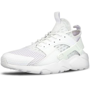 Nike Air Huarache Run Ultra BR Herren Sneaker weiß all white – Bild 2
