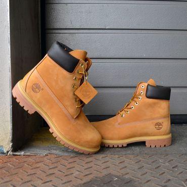 Timberland AF 6 Inch Premium Damen Boot wheat – Bild 5