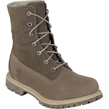 Timberland Auth Teddy Fleece WP Damen Boot taupe  – Bild 2
