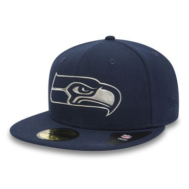 New Era Fitted Cap 59Fifty NFL Seattle Seahawks Remix Liquid Logo – Bild 1