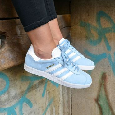 adidas Gazelle Damen Sneaker hellblau – Bild 9