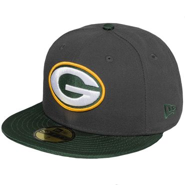 New Era Fitted Cap 59Fifty NFL Green Bay Packers Football  – Bild 1