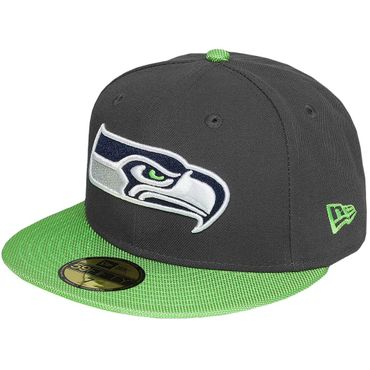 New Era Fitted Cap 59Fifty NFL Seattle Seahawks Football  – Bild 1