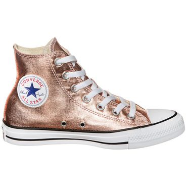 Converse All Star Hi Chuck Taylor Chucks metallic rosegold – Bild 1