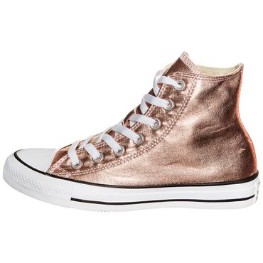 Converse All Star Hi Chuck Taylor Chucks metallic rosegold – Bild 2
