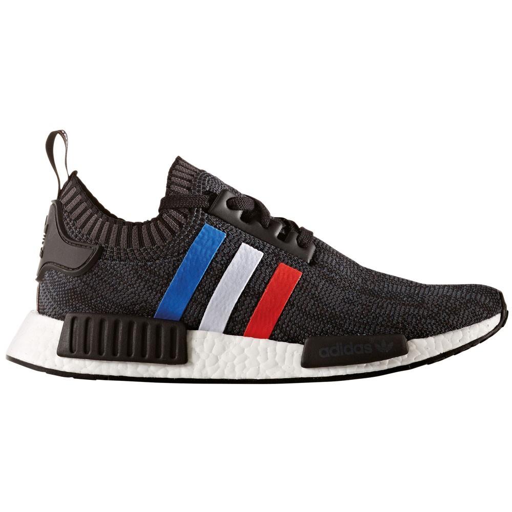 adidas NMD_R1 PK Herren Primeknit Sneaker tri-color schwarz