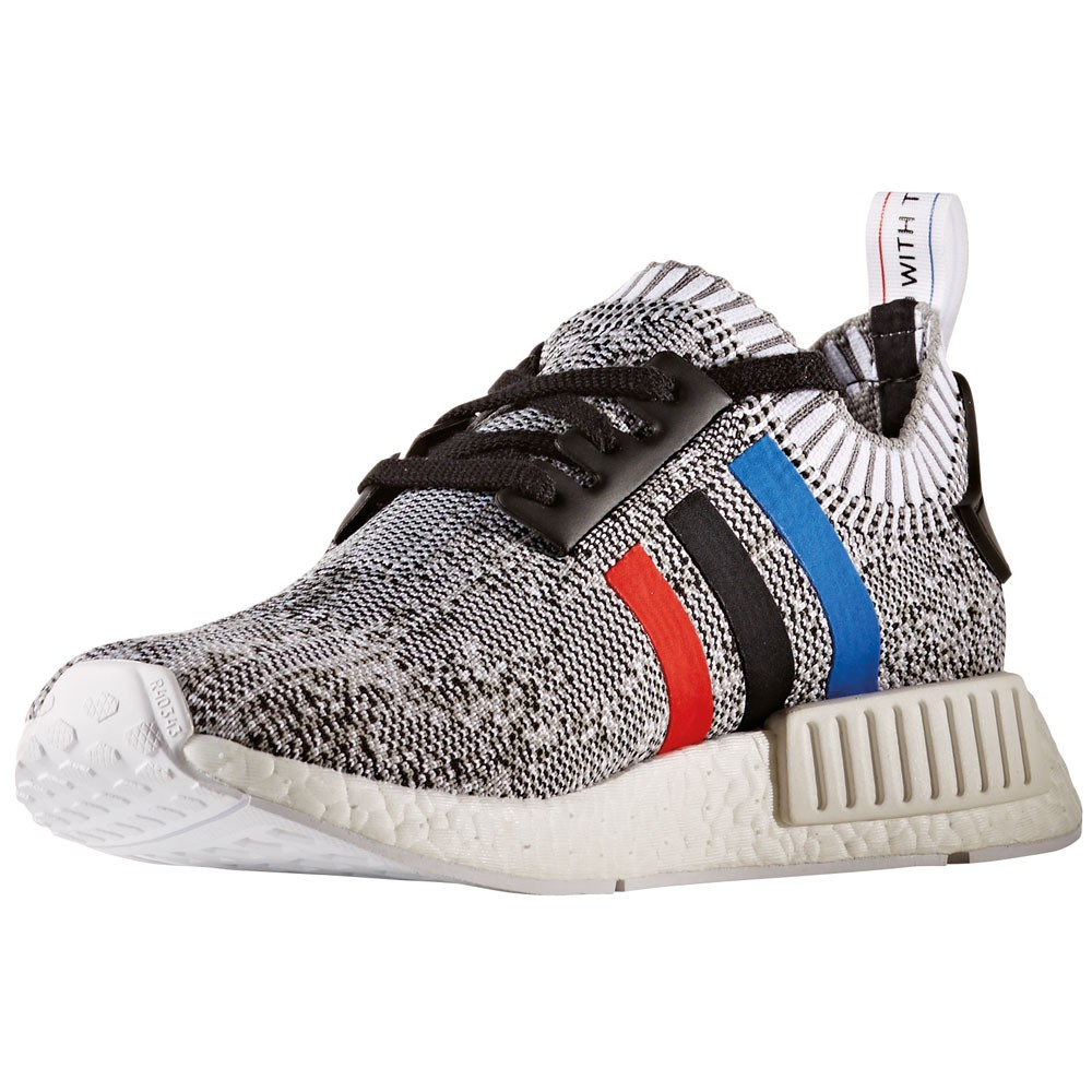 adidas nmd r1 pk herren primeknit sneaker tri color wei. Black Bedroom Furniture Sets. Home Design Ideas