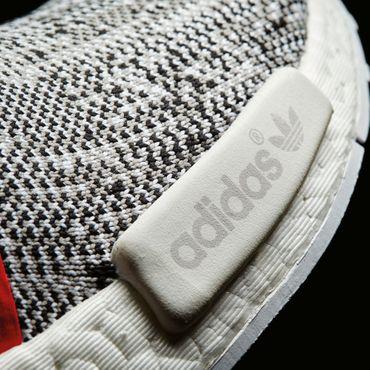 adidas NMD_R1 PK Herren Primeknit Sneaker tri-color weiß – Bild 6