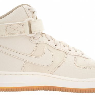 Nike Air Force 1 High Premium Sneaker oatmeal 654440 112 – Bild 2