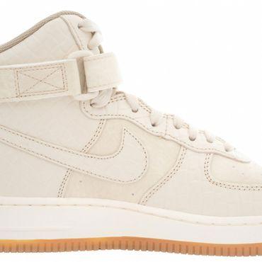 Nike Air Force 1 High Premium Sneaker oatmeal 654440 112 – Bild 2