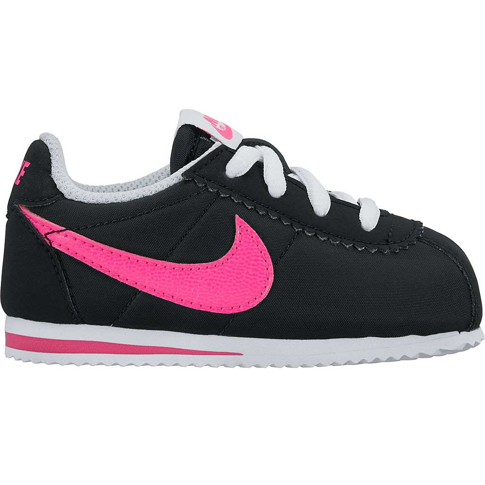 infant nike cortez schwarz. Black Bedroom Furniture Sets. Home Design Ideas