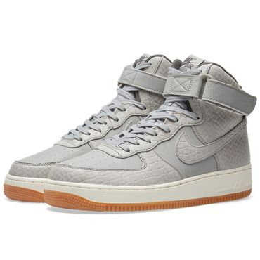 Nike WMNS Air Force 1 High Premium Sneaker grau – Bild 2