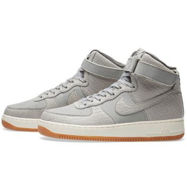 Nike WMNS Air Force 1 High Premium Sneaker grau – Bild 3