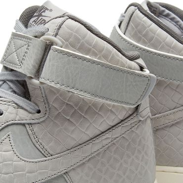 Nike WMNS Air Force 1 High Premium grau 654440 008 – Bild 4