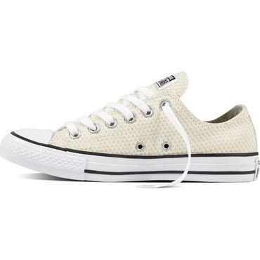 Converse All Star OX Chuck Taylor Chucks buff black – Bild 2