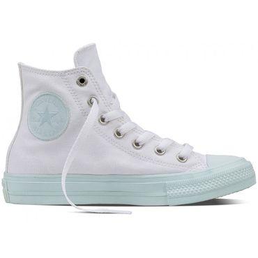 Converse All Star Hi Chuck Taylor II Chucks white fiberglass – Bild 1