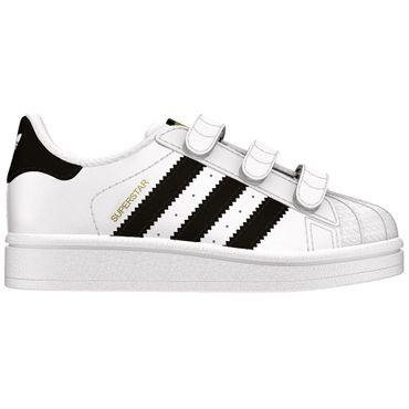adidas Superstar CF I Sneaker Kinder Baby weiß schwarz – Bild 1