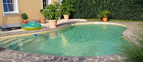 Pool- Teichbau