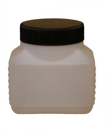 250ml HDPE-Vierkantflasche mit Deckel (414 Stück im Karton) online kaufen