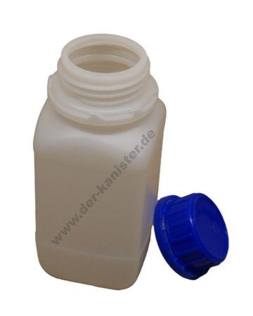 500ml HDPE-Vierkantflasche mit Deckel - Laborausführung (1 Stück) online kaufen